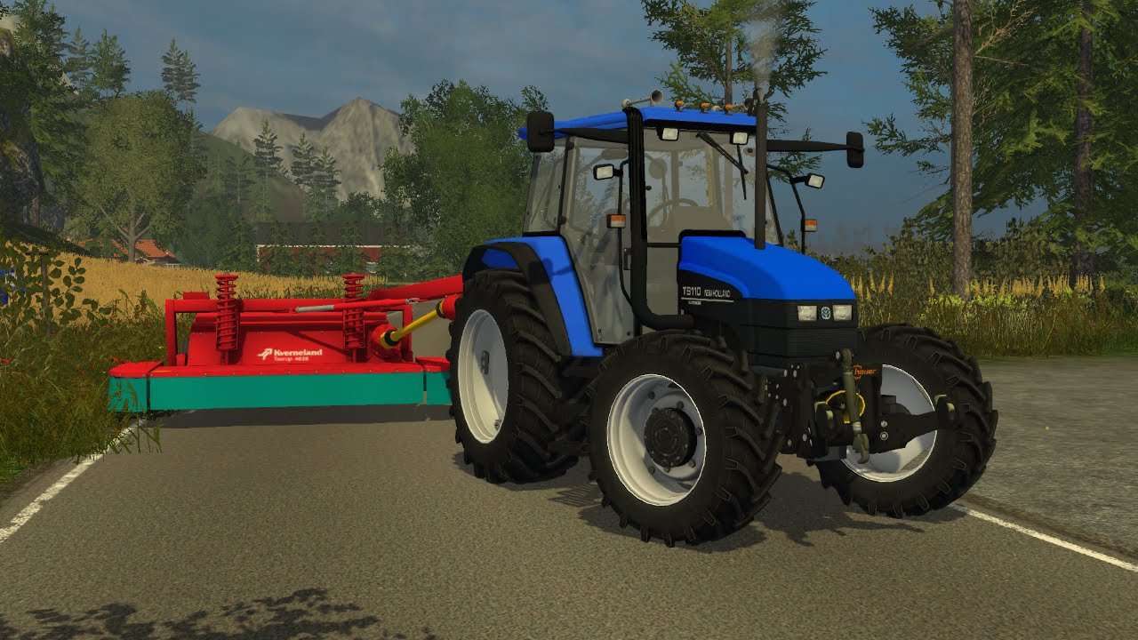 Mowing With Kverneland And NH In Norway FS YouTube - Norway map farming simulator 2015