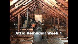 Video Attic Remodel - Week 1 download MP3, 3GP, MP4, WEBM, AVI, FLV Oktober 2018