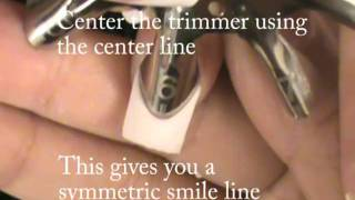 Oval Shape French Trimmer