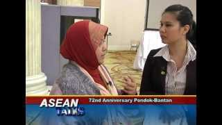 interview Dr. Harlina Halizah Siraj at the 72nd Anniversary Pondok-Bantan