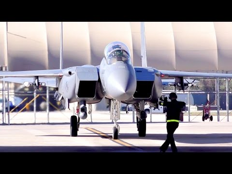 F-15 Flight Operations - Pilots And Aircrews At Seymour AFB