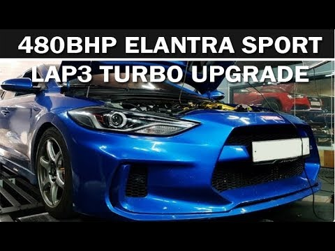 480HP Elantra Sport 1.6T - The most powerful ES in the World