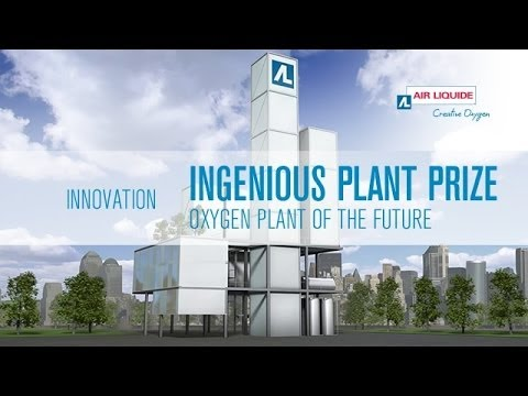 Oxygen plant of the future, architectural design competition: INGENIOUS PLANT Prize