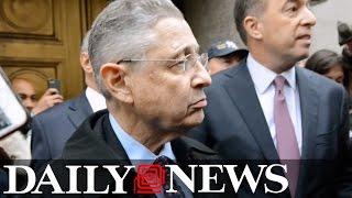 Sheldon Silver leaves Manhattan Court after sentencing