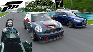 Что содержат VIP Кейсы, тюнинг и уик-энд хот хэтч Mini Cooper John Cooper Works - Forza Motorsport 7