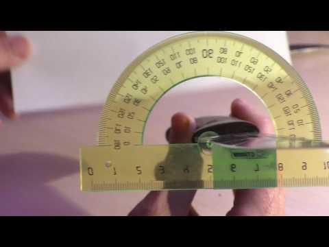 Измеряем угол заточки