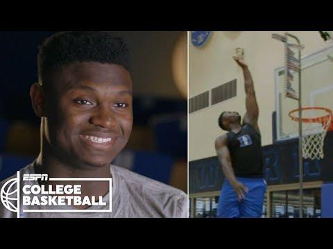 Duke's Zion Williamson's vertical leap makes highlight dunks possible | ESPN