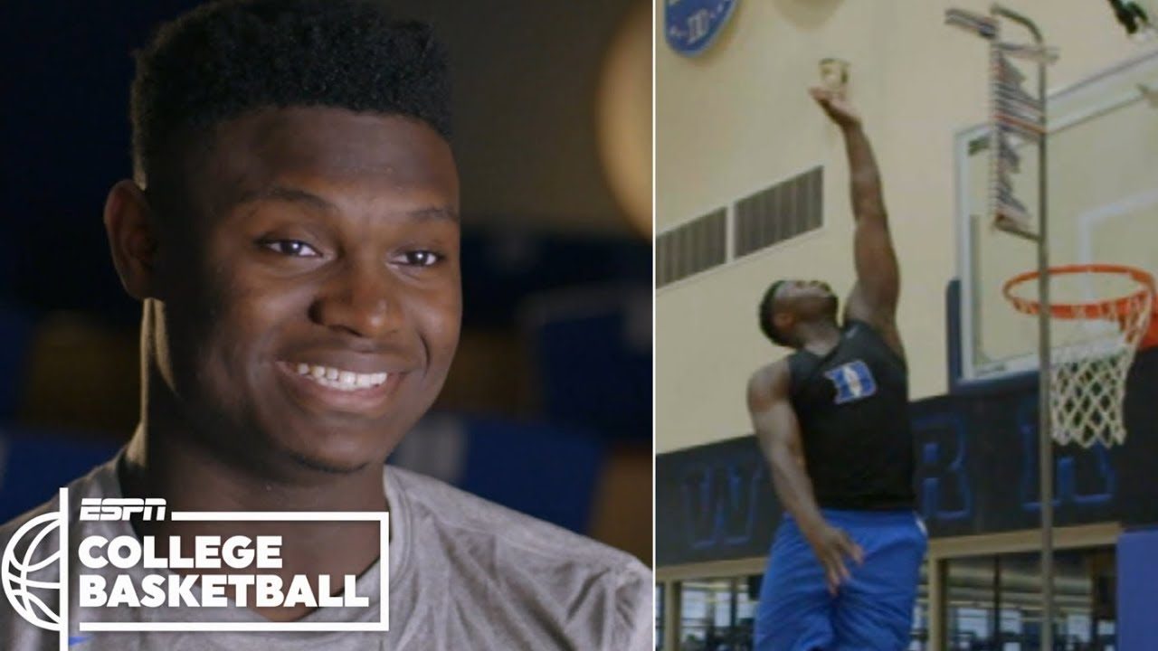 3dab1ebb6f0788 Zion Williamson s incredible vertical leap makes highlight dunks possible