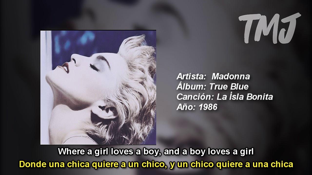 Letra Traducida La İsla Bonita De Madonna Youtube