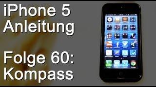 iPhone 5 - Kompass benutzen