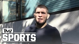 Khabib Nurmagomedov Says He'll Cut His Leg Off to Make Weight at UFC 219 | TMZ Sports