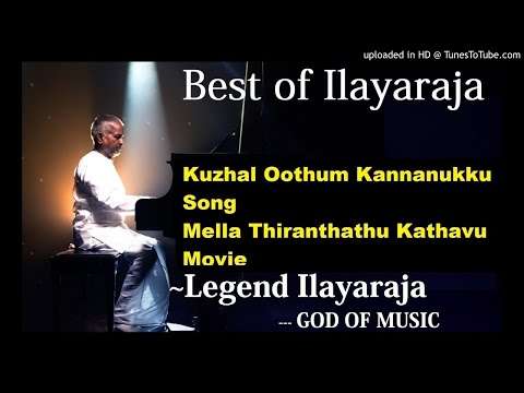 Kuzhal Oothum Kannanukku Song Mella Thiranthathu Kathavu Tamil Movie #Best Of Ilayaraja#