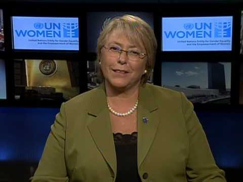 UN Women Executive Director Michelle Bachelet on the International Women's Day Centennial