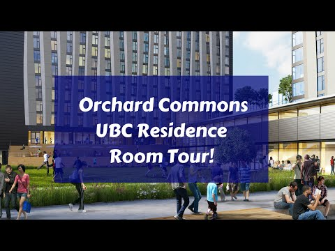 Orchard Commons UBC Residence Room Tour!!