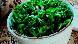 Руккола! Самая полезная трава-салат! Сбор и сушка!