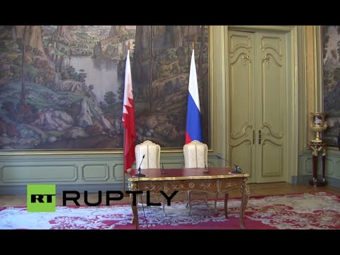 LIVE: Lavrov and Bahraini FM hold press conference in Moscow