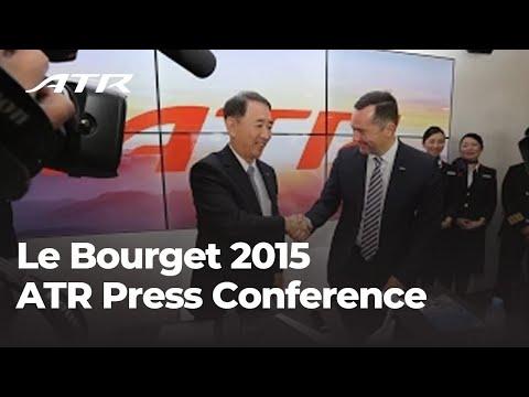 ATR Press Conference at Paris Air Show 2015  - Day 1 highlights