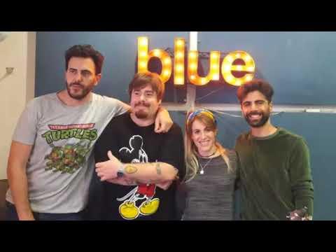 Laura Esquivel en Radio Blue 100.7 FM, se viene su disco!