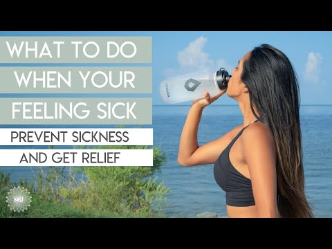 Sickness Health Hacks - What to Do When You're Sick or Avoiding It