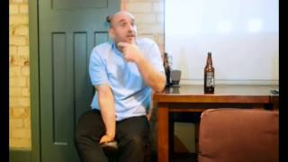 Shane Meadows at the Beestonian Film Club