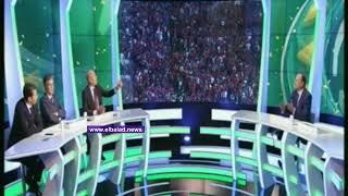 شاهد.. مشادة بين وائل جمعة ومذيع بي إن سبورت
