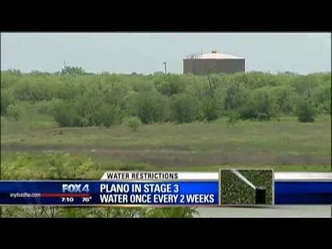 Plano urges water conservation