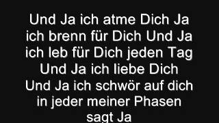 Ja silbermond Lyrics