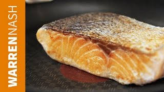 How To Cook Salmon In A Pan - Fry In Minutes - Recipes By Warren Nash