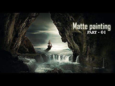How To Make Matte Painting Manipulation In Photoshop Cc [PART - 01]