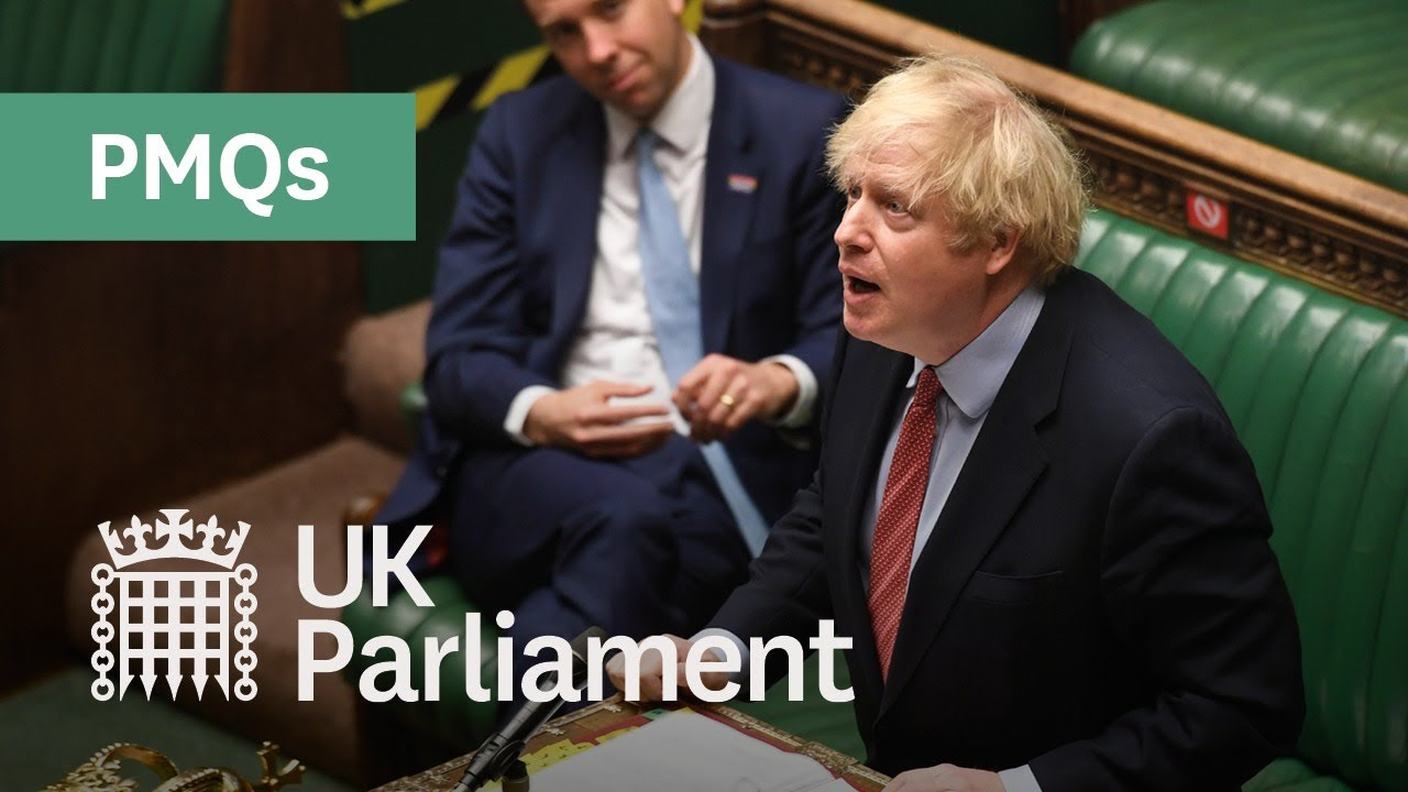 Prime Minister's Questions: 1 July 2020