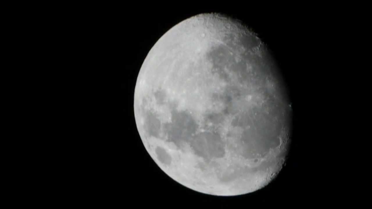 Mond test maksutov zoom spektiv teleskop 70mm 25 75 fach mit t2