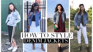 How to Style 穿搭分享 | 牛仔外套 Denim Jackets|Sharonsharbear