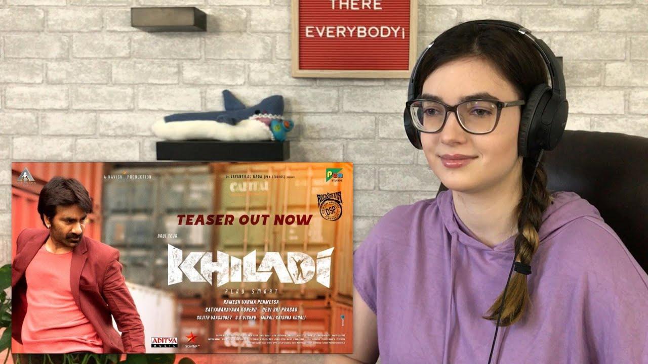 KHILADI Teaser | Ravi Teja | Meenakshi Chaudhary | Dimple Hayathi | Ramesh Varma | #AlexaReacts