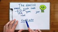 Words I heard at the dentist - basic dental vocabulary