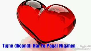 Tujhe dhoondti Hai Ye Pagal Nigahen WhatsApp status