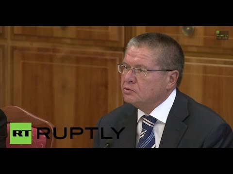 LIVE: Ulyukayev meets with European Commissioner on Trade Cecille Malmstrom - Press Statement
