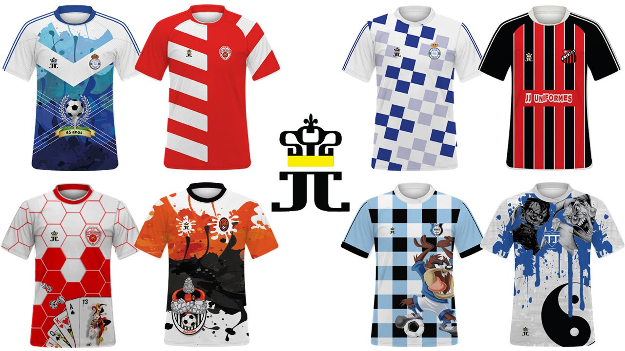 Uniforme de Futebol Camisetas Personalizado - YouTube dd0ee4b4f7bad