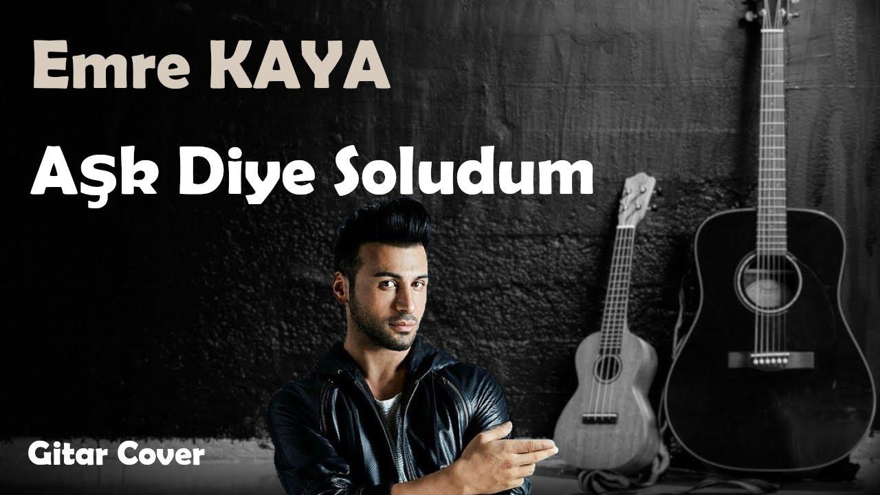 Emre Kaya - Aşk Diye Soludum KARAOKE ( www.karaokeck.com )