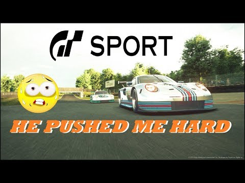 GT Sport He Pushed Me Hard - Brands Hatch Daily Race GR.3