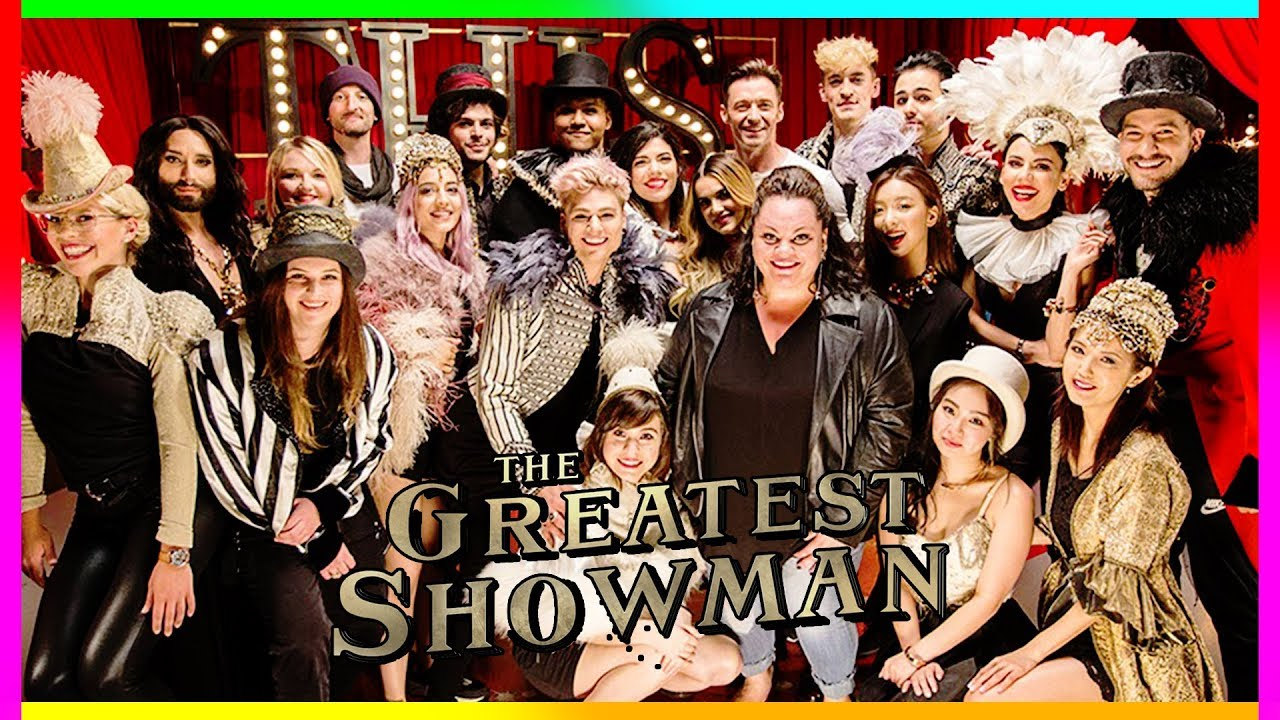 The Greatest Showman This Is Me Official Youtubers