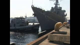 USS John McCain Involved in Collision in Strait of Malacca (File Footage)