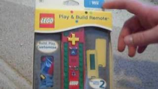 Lego Play and Build Wii Remote Unboxing
