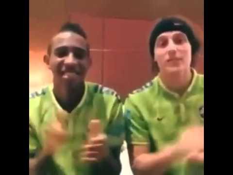 David Luiz e Talisca