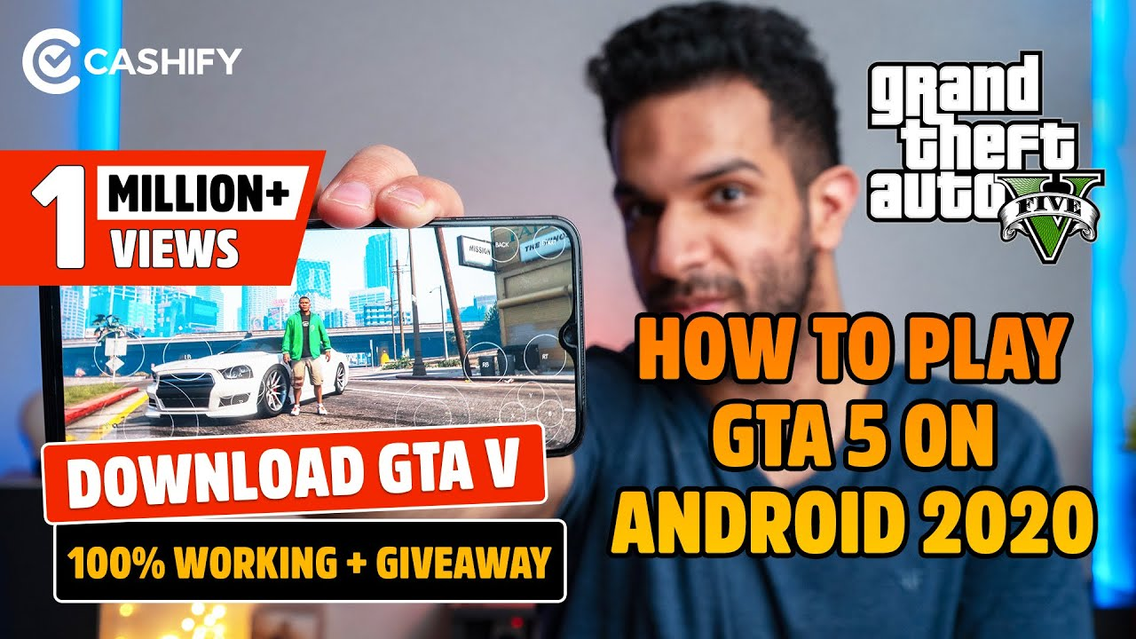 How to Play GTA 5 on Android 2020 | Download GTA V | 100% Working + Giveaway