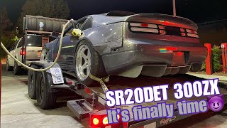 SR20 swapped 300ZX: Its finally time!!!