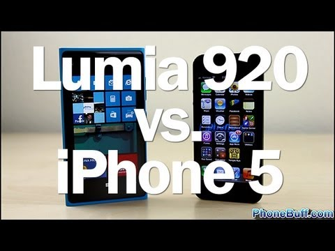 Nokia Lumia 920 vs. Apple iPhone 5 - In Depth Comparison