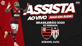 Flamengo X Atlético-GO AO VIVO na FlaTV   Brasileiro 2020