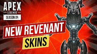 Apex Legends Leaks x Revenant Recolor Skins x New Wraith Gibraltar and Bloodhound Skins x