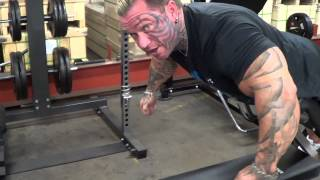 Lee Priest Gives Some Hyperextension Tips