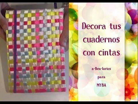 C Mo Decorar Cuadernos Con Cintas C Mo Decorar Libretas